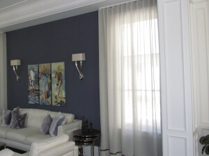 Sheer Curtain Kravet Living Room