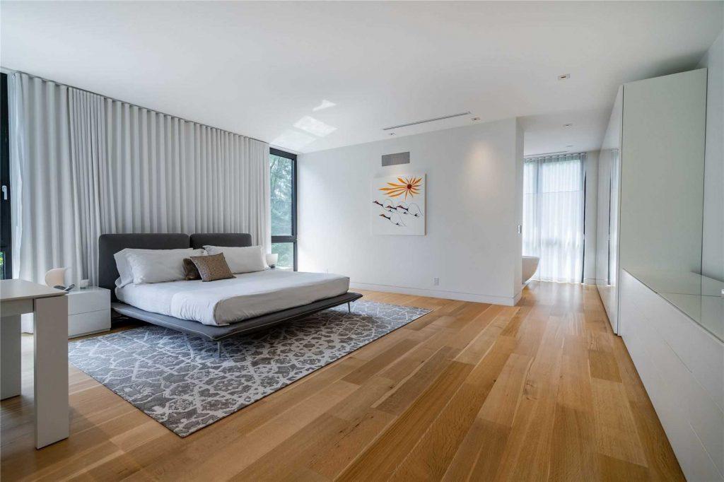 Sheers Master Bedroom