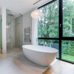Sheers Master Bathroom